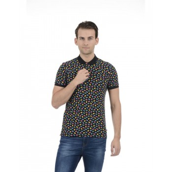 United Colors of Benetton Men Casual Wear Printed Multicolor T-Shirt