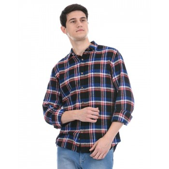 United Colors of Benetton Men Casual Wear Multicolor Shirt