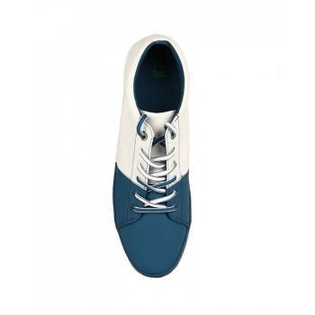 United Colors of Benetton Men Blue/White Sneakers