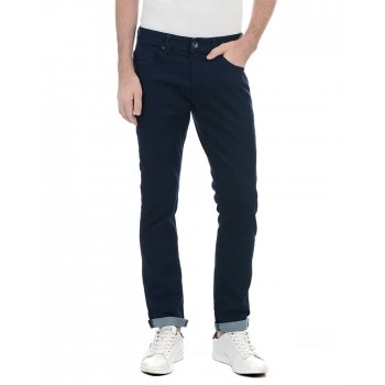 Benetton Men Casual Wear Solid Jeans