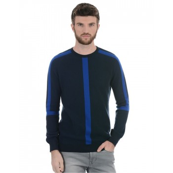 Benetton Men Casual Wear Solid Sweater