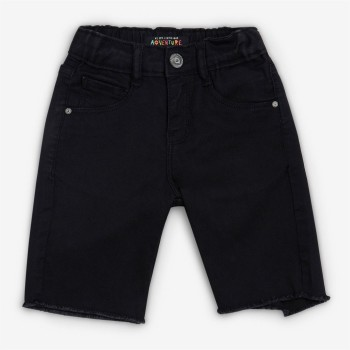 VITAMINS GIRLS Black Solid Casual Shorts