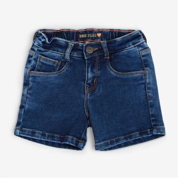 VITAMINS GIRLS Navy Solid Casual Shorts