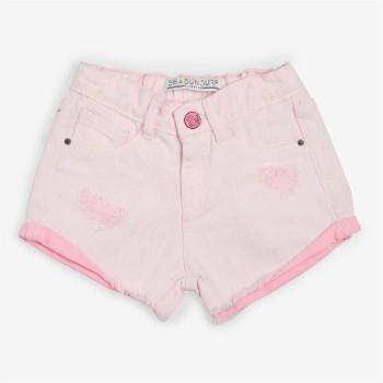 VITAMINS GIRLS Pink Solid Casual Shorts