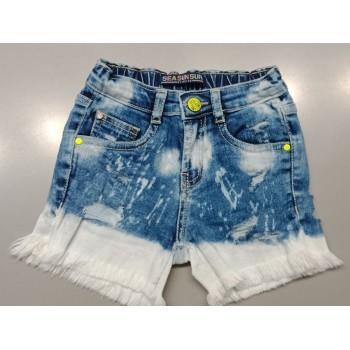 VITAMINS GIRLS Blue Solid Casual Shorts