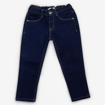 Vitamins Blue Solid Jeans For Girls