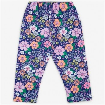 Vitamins Multicolor Floral Print Legging For Girls
