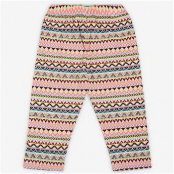Vitamins Multicolor Printed Legging For Girls