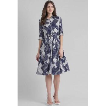 Zink London Women Casual Wear Printed Dress