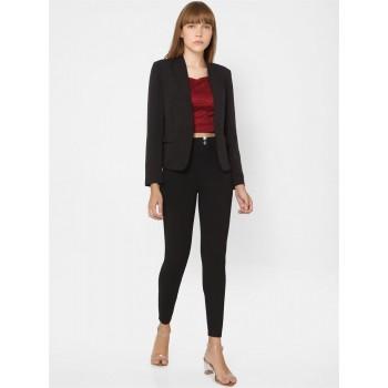 Only Women Casual Wear Black Blazer