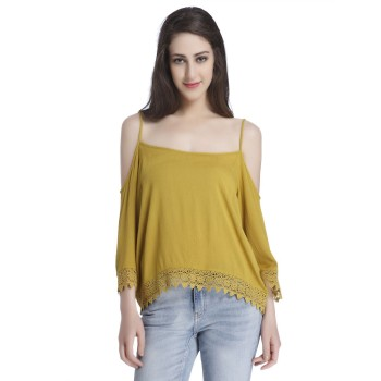 Only Casual Wear Solid Women Top
