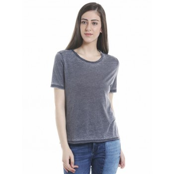 Only Casual Wear Solid Women T-shirt