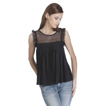 Only Women Casual Wear Lace Top