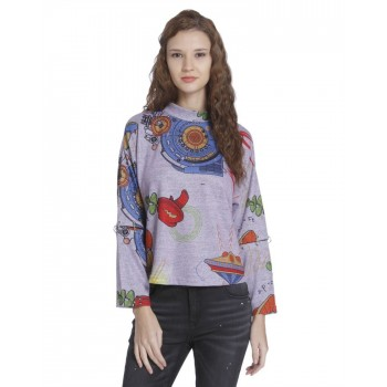 Only Casual Wear Printed Women Sweater