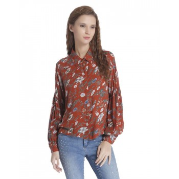 Only Women Casual Wear Printed Shirt