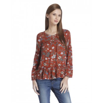Only Women Casual Wear Printed Top
