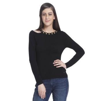 Only Casual Wear Solid Women Sweater