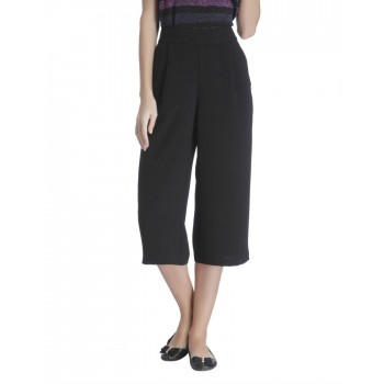 Only Women Casual Wear Solid Trousers