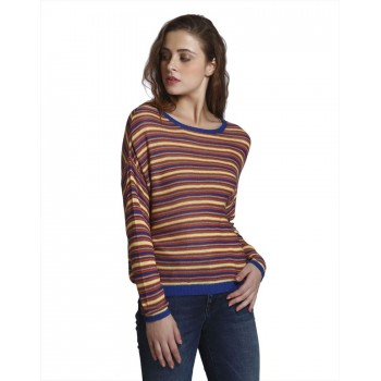 Only Casual Wear Striped Women Sweater