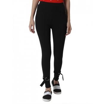 Only Women Casual Wear Solid Leggings