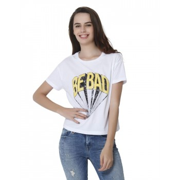 Only Casual Wear Graphic Print Women T-shirt