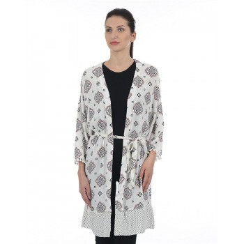 Only Women Casual Wear Printed Shrug