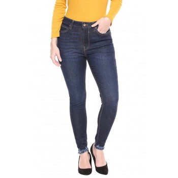 Only Women Casual Wear Solid Jeans