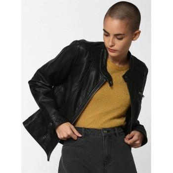 Only Women Casual Wear Solid Jacket