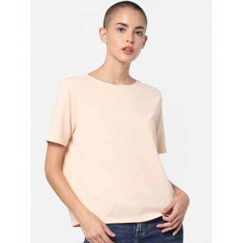 Only Women Casual Wear Solid Top
