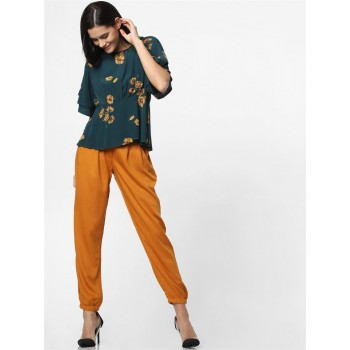 Only Women Casual Wear Brown Jogger Pant