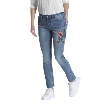 Vero Moda Casual Wear Embroidred Women Jeans