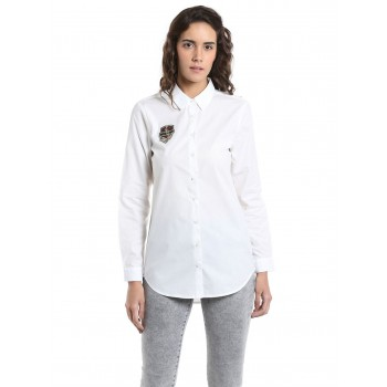 Vero Moda Casual Wear Solid Women Shirt