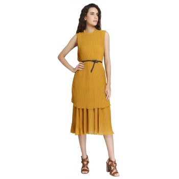 Vero Moda Casual Wear Solid Women Dress