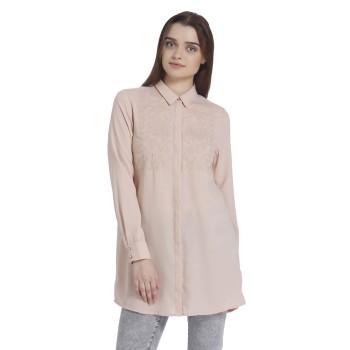 Vero Moda Casual Wear Embroidred Women Shirt