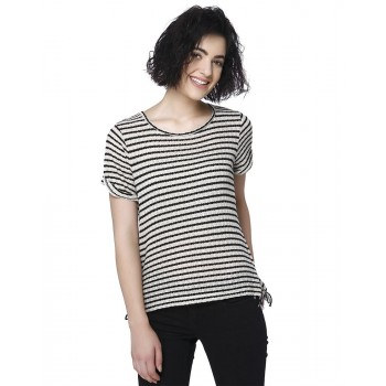 Vero Moda Women Casual Wear Striped T-Shirt