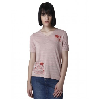 Vero Moda Women Casual Wear Printed T-Shirt