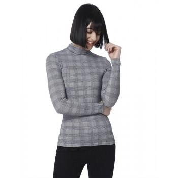 Vero Moda Women Casual Wear Checkered Top