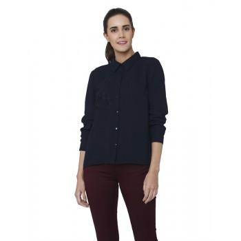 Vero Moda Women Casual Wear Embroidered Shirt