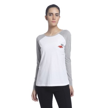 Vero Moda Women Color Block Casual Wear White Top