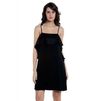 Vero Moda Women's Sleeveless Black Dress