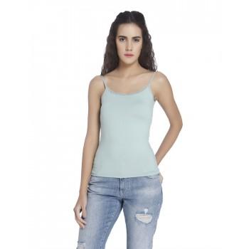 Vero Moda Women Solid Casual Wear Blue Camisole