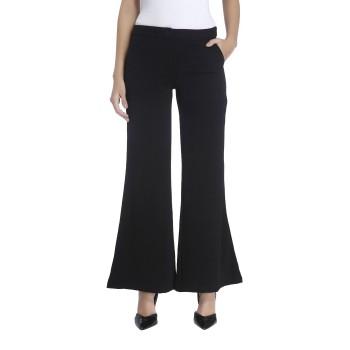 Vero Moda Women Solid Casual Wear Black Trouser