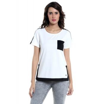 Vero Moda Women's Solid T-shirt