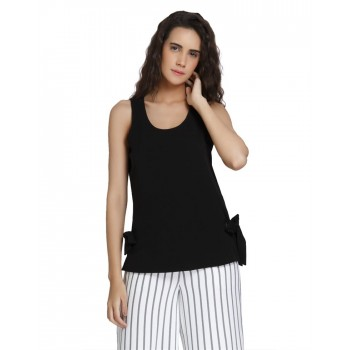 Vero Moda Women's Sleeveless Black Top
