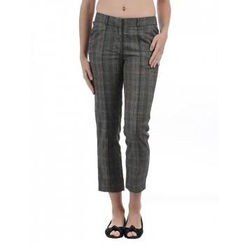 Vero Moda Women Casual Wear Checkered Trouser