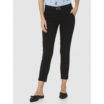 Vero Moda Women Solid Casual Wear Trousers