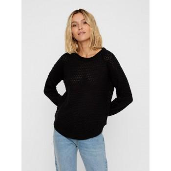 Vero Moda Women Casual Wear Self Design Sweater