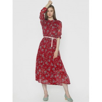Vero Moda Women Casual Wear Floral Print Dress