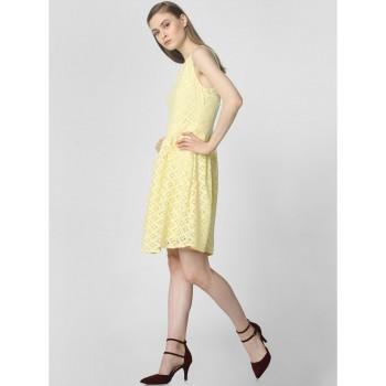 Vero Moda Women Casual Wear Self Design Dress
