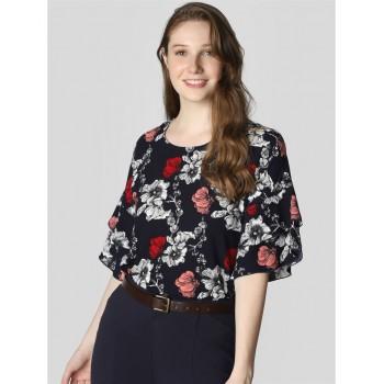 Vero Moda Women Casual Wear Floral Print Top